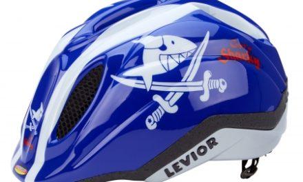 Levior cykelhjelm Primo Licens – Shark Blå
