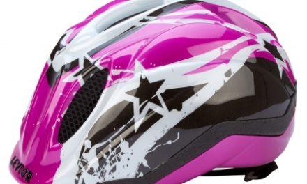 Levior cykelhjelm Primo – Violet Stars