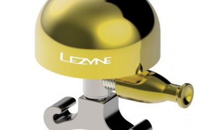 Lezyne Classic Brass Bell – Ringeklokke – Messing/Sølv – Str. M