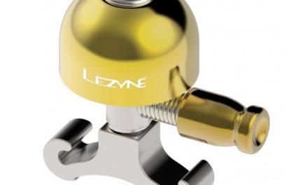 Lezyne Classic Brass Bell – Ringeklokke – Messing/Sølv – Str. S