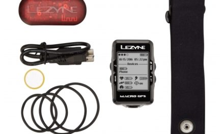 Lezyne Macro GPS HR Loaded – Cykelcomputer – Bundle med pulsbælte