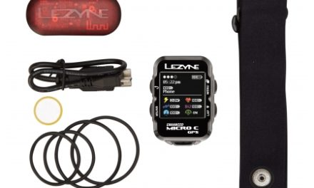Lezyne Micro Color GPS HR Loaded – Cykelcomputer – Bundle med pulsbælte