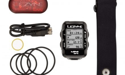 Lezyne Mini GPS HR Loaded – Cykelcomputer – Bundle med pulsbælte