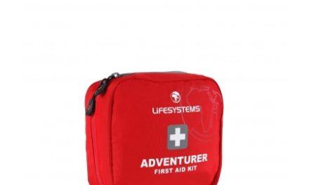 LifeSystems Adventurer First Aid Kit – Førstehjælpskit – Rød