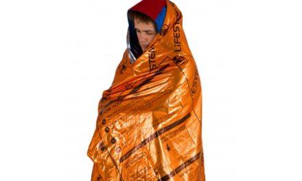 LifeSystems Heatshield Blanket – Redningstæppe – Enkelt – Orange