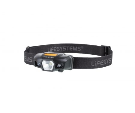 LifeSystems Intensity 155 Head Torch – Pandelampe – Sort