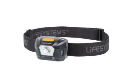 LifeSystems Intensity 230 Head Torch – Pandelampe – Genopladelig – Sort