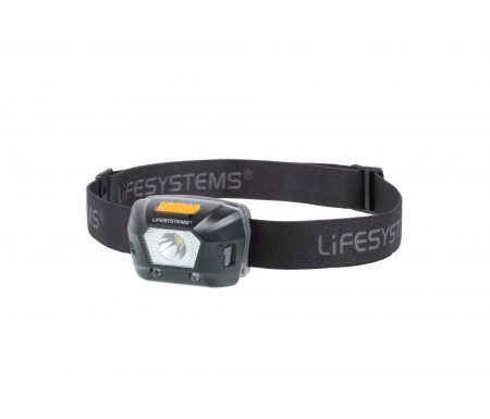 LifeSystems Intensity 230 Head Torch – Pandelampe – Genopladelig – Sort