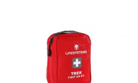 LifeSystems Trek First Aid Kit – Førstehjælpskit – Rød