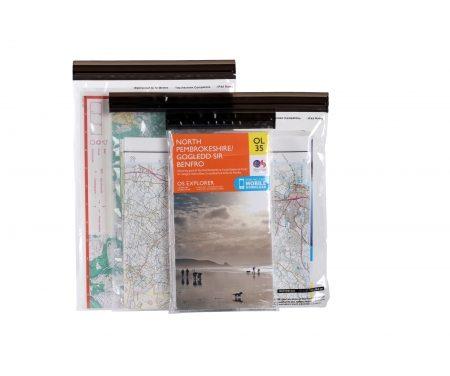 LifeVenture DriStore LocTop Bags – Vandtæt kortmappe – 3 stk