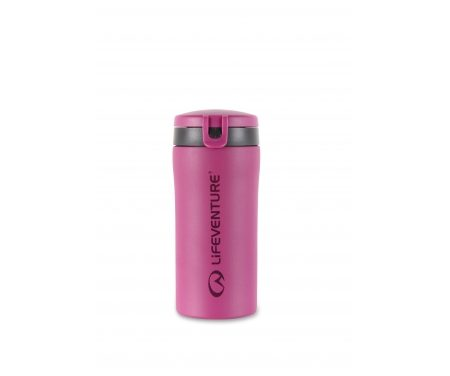 LifeVenture Flip-Top Thermal Mug – Termokop – 0,3 l – Pink