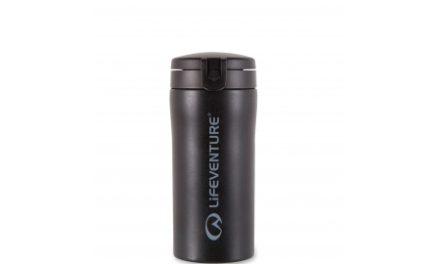 LifeVenture Flip-Top Thermal Mug – Termokop – 0,3 l – Sort