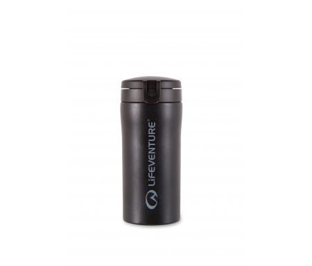 LifeVenture Flip-Top Thermal Mug – Termokop – 0,3 l – Sort