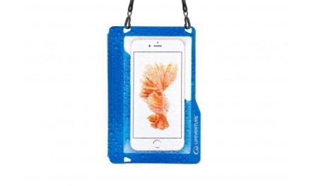 LifeVenture Hydroseal Phone Case Plus – Vandtæt pose til mobil – Blå