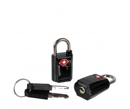 LifeVenture TSA Mini Padlocks – Hængelås til rejsebrug – 2 stk