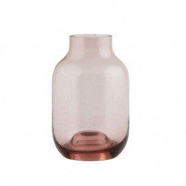 Lille House Doctor Vase – Shaped – Aubergine fra House Doctor