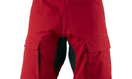 Lundhags Authentic – Shorts – Rød