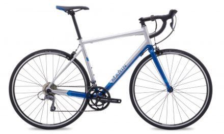 Marin Argenta – Enduro racercykel – Matsølv/blå
