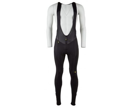 Mavic Club – Vinter bib tight – med pude – Sort