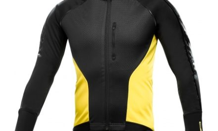 Mavic Cosmic Elite Thermo – Cykeljakke – Sort/gul