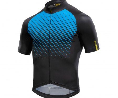 Mavic Cosmic Graphic Jersey – Cykeltrøje med korte ærmer – Sort/blå