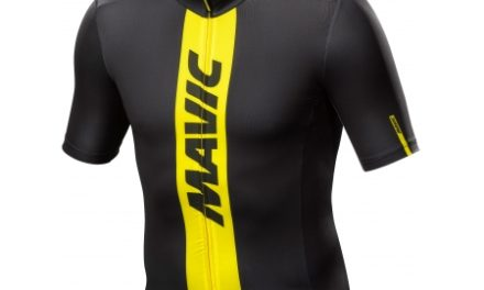 Mavic Cosmic Jersey – Cykeltrøje – Sort/gul
