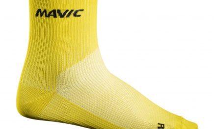 Mavic Cosmic Mid Sock – Cykelstrømper – Gul