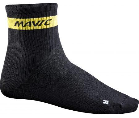 Mavic Cosmic Mid Sock – Cykelstrømper – Sort