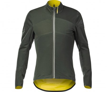 Mavic Cosmic Pro SO H2O Jacket – Vandtæt Softshell cykeljakke – Mørkgrøn