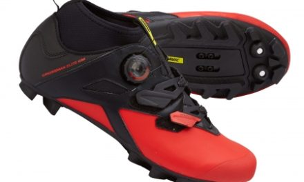 Mavic Crossmax Elite CM – MTB sko – Sort/rød