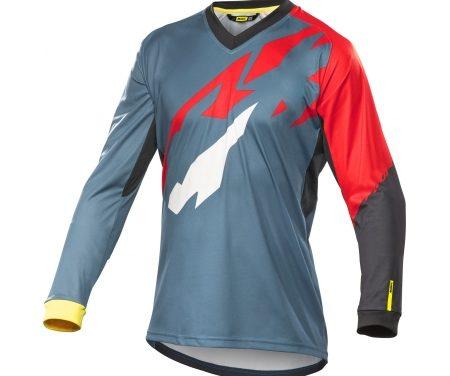 Mavic Crossmax Pro – Cykeltrøje L/Æ – Petrolium/rød – Loose fit