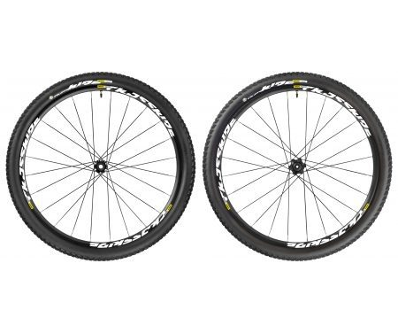 Mavic Crossride Tubeless Pulse – MTB hjulsæt inkl. dæk – Sort – 29×2,1