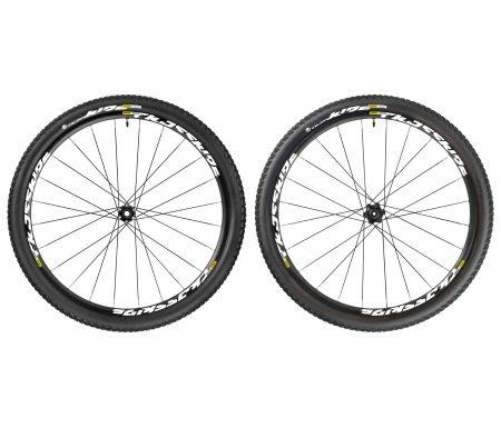 Mavic Crossride Tubeless Pulse – MTB hjulsæt inkl. dæk – Sort – 29×2,1