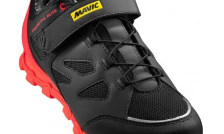 Mavic Echappée Trail Elite – Dame MTB sko – Sort/rød