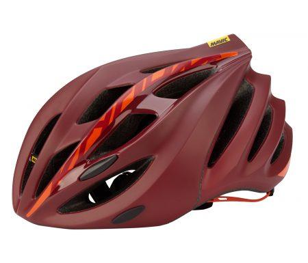 Mavic Ksyrium Elite Cykelhjelm – Rød/Orange