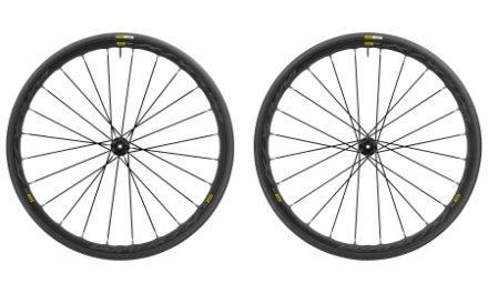 Mavic Ksyrium Elite Disc – Hjulsæt inkl. dæk – Sort – Intl. 6 hul – Sram/Shimano – 700x25c
