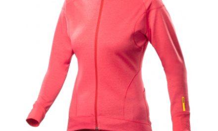 Mavic Ksyrium Elite – Thermo LS Jersey – Langærmet Cykeltrøje – Dame – Koral