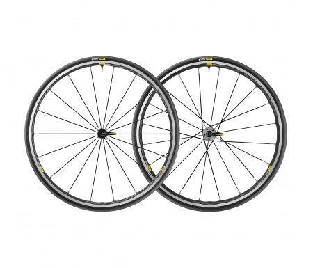 Mavic Ksyrium Elite UST – Tubeless hjulsæt med dæk –  700 x 25c – Shimano/Sram