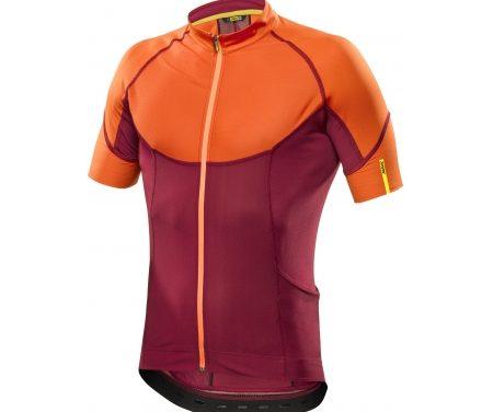 Mavic Ksyrium Pro – Cykeltrøje – Rød/orange