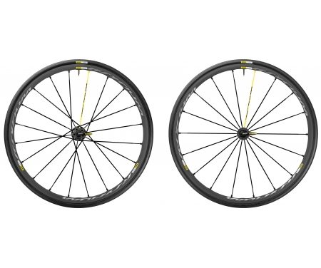 Mavic Ksyrium Pro Exalith – Hjulsæt inkl. dæk – Sort – Sram/Shimano – 700x25c