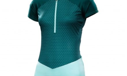 Mavic Sequence Graphic Jersey – Cykeltrøje med korte ærmer  – Dame – Mørkegrøn