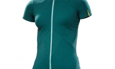 Mavic Sequence Jersey – Cykeltrøje med korte ærmer – Dame – Mørkegrøn