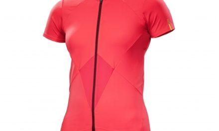 Mavic Sequence Jersey –  Cykeltrøje med korte ærmer – Dame – Rød – Str. XS