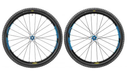 Mavic XA Elite – MTB hjulsæt inkl. dæk – Sort/blå – 29×2,35
