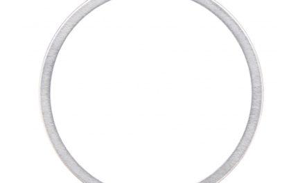 Mellemskive 1,0mm Shimano til kassette og hjul