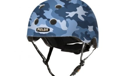 Melon Camu Blue – Cykelhjelm – Blå camouflage