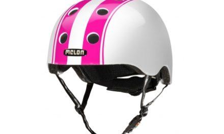 Melon Double – Cykelhjelm – Hvid/pink