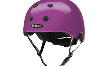 Melon Rainbow Purple – Cykelhjelm – Lilla