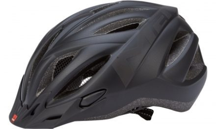MET 20 Miles cykelhjelm – Matsort – LED lys i spænde