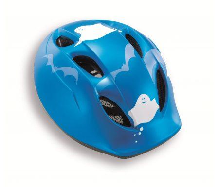 Met Buddy – Cykelhjelm – Str. 46-53 cm – Blå  med spøgelsesmotiv